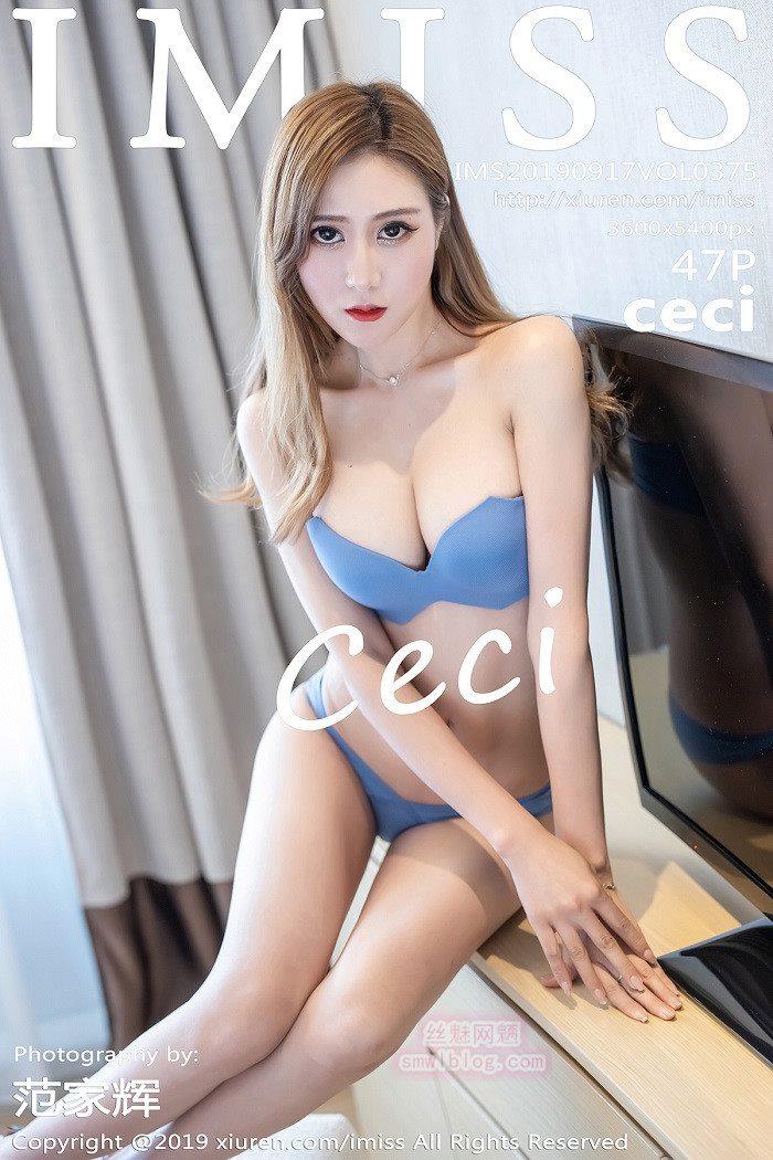 [IMISS爱蜜社] 2019.09.17 VOL.375 ceci [47+1P/60.8M]
